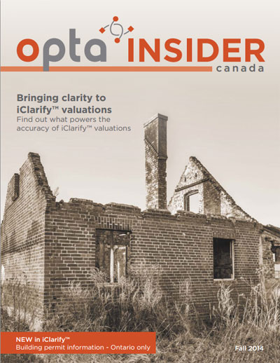 Opta Insider – Fall 2014 Bringing Clarity to iClarify Valuations