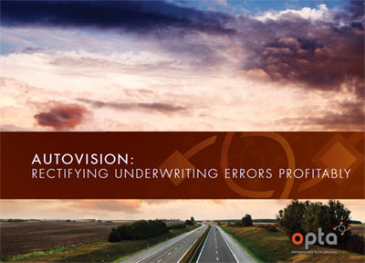Autovision: Rectifying underwriting errors profitably - Highway looking off into the sunset